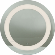 Access 70085LED-MIR Spa Modern Mirror & Frosted Glass LED Vanity Light Fixture