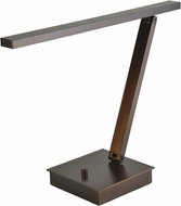 Access 72006LEDD-BRZ TaskWerx Contemporary Bronze LED Desktop Lamp