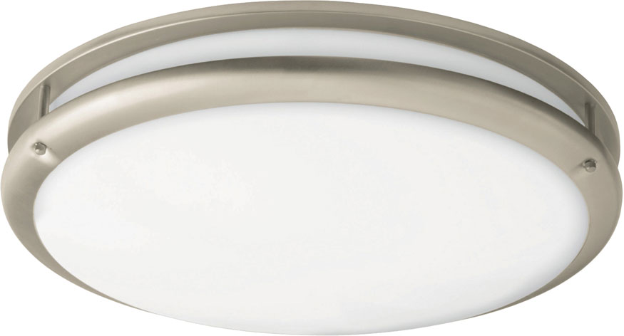 Flush Mount Ceiling Lights Led: AFX CCF121200L30D1SN Cashel Satin Nickel LED 12  Flush Mount Ceiling  Light Fixture. Loading zoom,Lighting