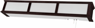 AFX CMB332ESE8 Cameron Espresso Fluorescent Overbed Wall Light Fixture