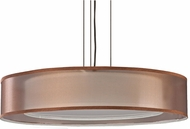 AFX CZPC418QKBMV-BZWH Cortez Okley Bronze Fluorescent Drum Hanging Light