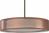 AFX CZPS418QKBMV-BZWH Cortez Okley Bronze Fluorescent Drum Hanging Pendant Lighting