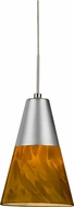 AFX LAPL45027AMSND1 Laveer Contemporary Satin Nickel LED Mini Drop Lighting Fixture