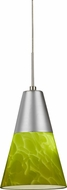 AFX LAPL45027GNSND1 Laveer Contemporary Satin Nickel LED Mini Pendant Light