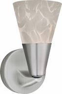 AFX LASL45040WHSN Laveer Contemporary Satin Nickel LED Wall Sconce Lighting
