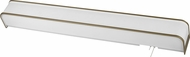 AFX SHB332ACE8-LA Sheridan Modern Champagne Accent Fluorescent Overbed Wall Mounted Lamp