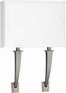 AFX SHS1218213QMVSNLA Sheridan Satin Nickel Fluorescent Wall Mounted Lamp