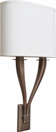 AFX TYS1123700L30D2KBWH Tory Okley Bronze LED Wall Light Fixture