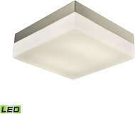 Alico FML2030-10-16M Wyngate Satin Nickel LED Large Ceiling Light Fixture