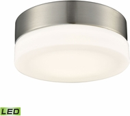 Alico FML4025-10-16M Holmby Satin Nickel LED Small Ceiling Lighting Fixture