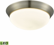 Alico FML7175-10-16M Contours Satin Nickel LED Large Overhead Lighting