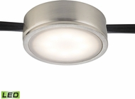 Alico MLE201-5-16M Tuxedo Contemporary Satin Nickel LED Cabinet Puck Lighting
