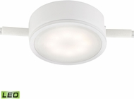 Alico MLE201-5-30 Tuxedo Modern White LED Under Cabinet Puck Lighting