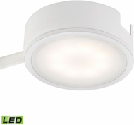 Alico MLE301-5-30 Tuxedo Contemporary White LED Under Counter Puck Lighting w/ Power Cord & Plug
