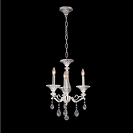 Allegri 020150-017-SS001 Vasari Polished Chrome Swarovski Spectra Clear Mini Chandelier Light