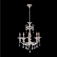 Allegri 020151-017-SS001 Vasari Polished Chrome Swarovski Spectra Clear Mini Chandelier Lighting