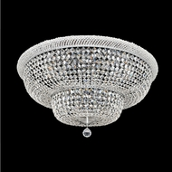 Allegri 020942-010-FR001 Napoli Polished Chrome Firenze Clear 34  Flush Lighting