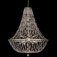Allegri 029953-042 Lucia Contemporary Vintage Silver Leaf 32 Hanging Lamp