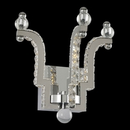 Allegri 030520 Cambria Chrome LED Wall Sconce Lighting