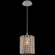Allegri 031410-010-FR000 Anello Chrome Mini Drum Hanging Pendant Lighting