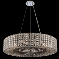Allegri 031452-010-FR000 Anello Chrome Drum Pendant Hanging Light