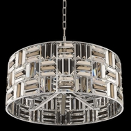 Allegri 031751-010-FR000 Modello Chrome 23  Drum Drop Lighting