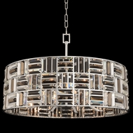 Allegri 031753-010-FR000 Modello Chrome 30  Drum Drop Ceiling Lighting