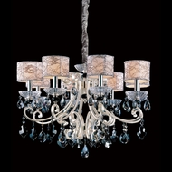 Allegri 10018 Nardini Two-tone Silver Finish 29.5  Wide Chandelier Light