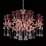 Allegri 10034 Salieri 34  Wide Lighting Chandelier