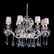 Allegri 10099 Locatelli Two-tone Silver Finish 34.5  Wide Ceiling Chandelier