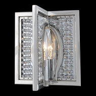 Allegri 10130 Rockefeller Chrome Wall Sconce