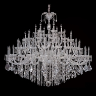 Allegri 10239 Giordano Chrome Finish 63  Wide Chandelier Lighting