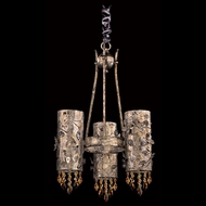 Allegri 10278 Franchetti 18  Wide Halogen Mini Hanging Chandelier