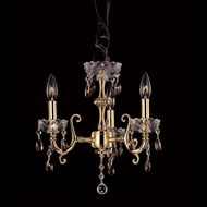 Allegri 10298 Bertali 15.5  Tall Mini Chandelier Light