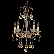 Allegri 10336 Torelli 18  Wide Mini Chandelier Light