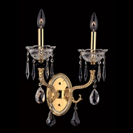Allegri 10442 Faure 17  Tall Candle Wall Light Fixture