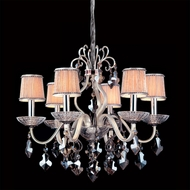 Allegri 10747 Puccini Two-tone Silver Finish 24.5  Wide Lighting Chandelier