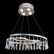 Allegri 11803 Ravina 2-Tone Stainless Steel Pendant Lighting Fixture