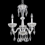 Allegri 22253 La Valle Chrome Mini Hanging Chandelier