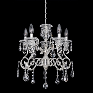 Allegri 23653 Haydn Silver Mini Lighting Chandelier