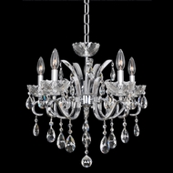 Allegri 23853 Catalani Chrome Mini Ceiling Chandelier