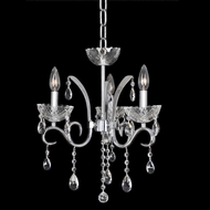 Allegri 23855 Catalani Chrome Mini Chandelier Light