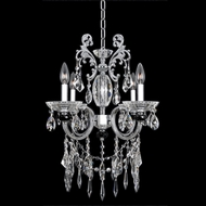Allegri 24253 Steffani Chrome Mini Chandelier Light