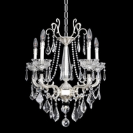 Allegri 24453 Campra 2-Tone Silver Mini Chandelier Lighting