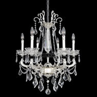 Allegri 24454 Campra 2-Tone Silver Mini Lighting Chandelier