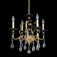 Allegri 24950 Cimarosa Two-Tone Gold /24K Mini Ceiling Chandelier