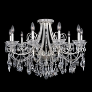 Allegri 25040 Brunetti 2-Tone Silver Flush Mount Lighting