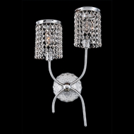 Allegri 25521 Florien Chrome Wall Light Sconce