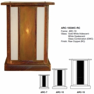 Arroyo Craftsman ARC Artisan Outdoor Column Mount
