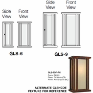 Arroyo Craftsman GLS Glencoe Sconce Lighting